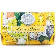 Soap, Lemon Basil Large Bath Soap Bar, Michel Design Works
