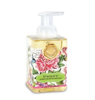 Liquid Soap,  Peony Foaming Hand Soap, Michel Design Works