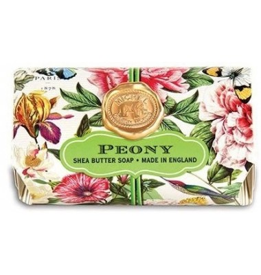 Soap, Peony Large Bath Soap Bar, Michel Design Works