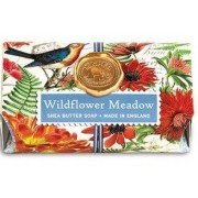 Soap, Wildflower Large Bath Soap Bar, Michel Design Works