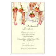 Bridesmaides Luncheon Invitations, All The Girls, Odd Balls
