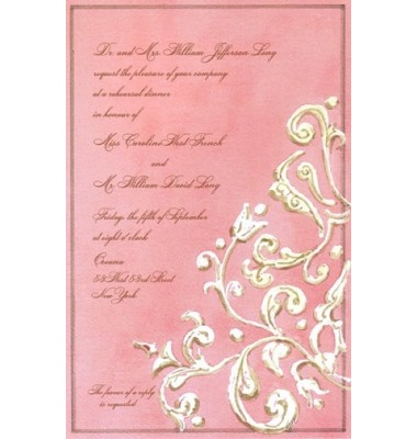 Bridal Shower Invitations, Blush, Odd Balls