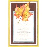 Thanksgiving And Fall Invitations, Ocher Oak, Odd Balls Invitations