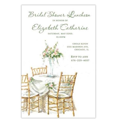 Rehearsal Dinner Invitations,Chivari Chairs,Odd Balls