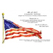 4th Of July Invitations, Old Glory, Odd Balls Invitations