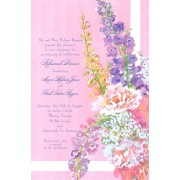 Floral Invitations, Pink Pink