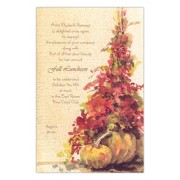 Thanksgiving & Fall Invitations, Yellow Pumpkin, Odd Balls