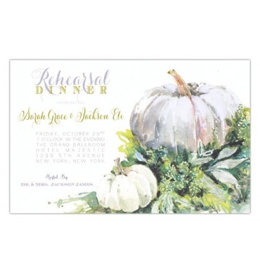 Thanksgiving & Fall Invitations, Shadow Pumpkin, Odd Balls