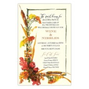 Thanksgiving & Fall Invitations, Autumn Seeds, Odd Balls