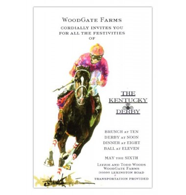 Horse Racing Invitations, Turn In' It On, Odd Balls