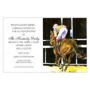 Horse Racing Invitations, Post, Odd Balls