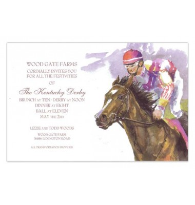 Horse Racing Invitations, Got Giddy Up, Odd Balls