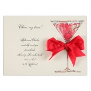 christmas cocktail party invitations cheers odd balls - Christmas Cocktail Party Invitations