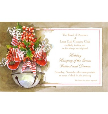Christmas Invitations, Bella Bell, Odd Balls Invitations