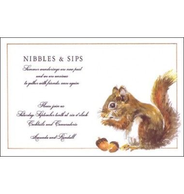 Thanksgiving And Fall Invitations, Nuts, Odd Balls Invitations
