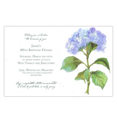 Luncheon Invitations, French Blue, Odd Balls