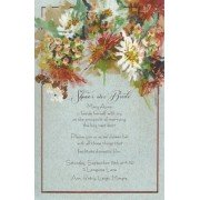 Thanksgiving and Fall Invitations, Mums and Hypernicum, Odd Balls Invitations