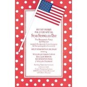 4th Of July Invitations, American Flag, Odd Balls