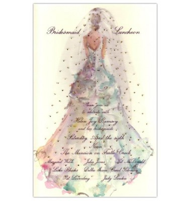 Bridal Shower Invitations, The Gown, Odd Balls