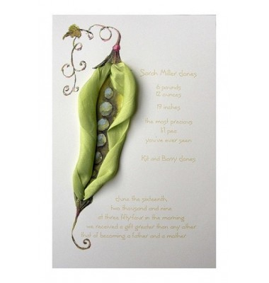 Baby Sower Invitations, Peas In A Pod, Odd Balls Invitations