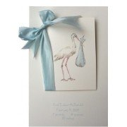Baby Shower Invitations, Stork Blue, Odd Balls