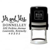 Ink Stamp, Mr & Mrs, PSA Essentials