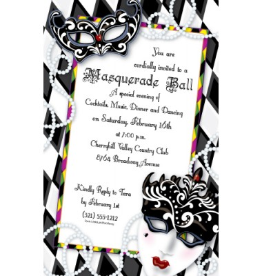 Mardi Gras Invitations, Mardi Gras Masks, Paper So Pretty