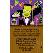 Halloween Invitations, Shaken Not Stirred, Paper So Pretty
