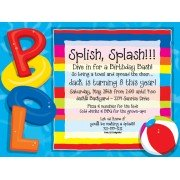 Pool Party Invitations, Party At The Pool, Paper So Pretty