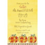 Fall Invitations, Pumpkins, Picture Perfect