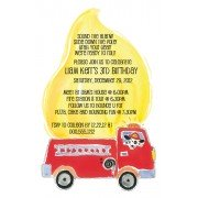 Fire Truck Invitations, Fire Truck, Picture Perfect
