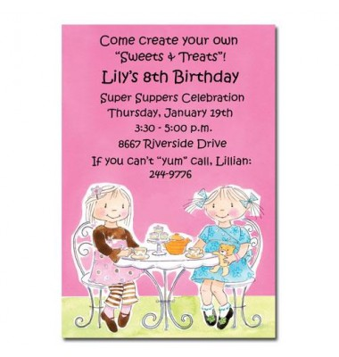 Tea Party Invitations, Tea Time, Picture Perfect