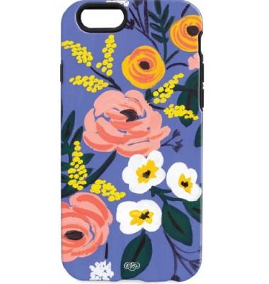 iPhone 6 Phone Case, Violet Floral, Rifle