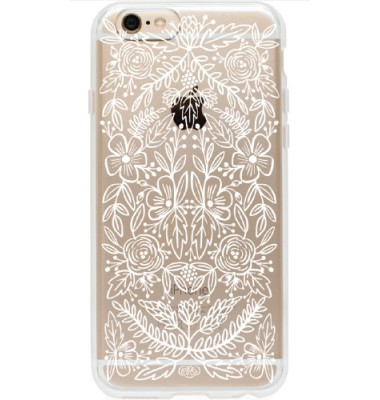 iPhone 6 Phone Case, Floral Lace