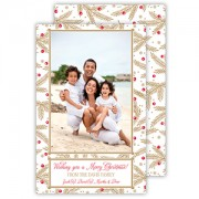 Christmas Photo Cards, Modern Pine, Roseanne Beck