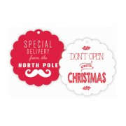 Christmas Gift Tags, Don't Open til Christmas, Roseanne Beck
