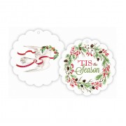 Christmas Gift Tags, Dove/Wreath, Roseanne Beck