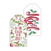 Christmas Gift Tags, Noel/Tis the Season, Roseanne Beck