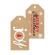 Christmas Gift Tags, Joy, Roseanne Beck