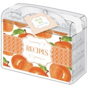Recipe Card Box, Georgia Peach, Roseanne Beck