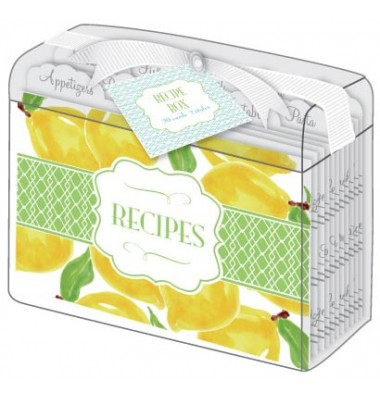 Recipe Card Box, Florida Lemons, Roseanne Beck