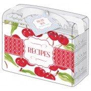 Recipe Card Box, Michigan Cheeries, Roseanne Beck