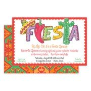 Fiesta Invitations, Hot Fiesta, Rosanne Beck