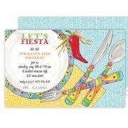 Fiesta Invitations, Fiesta Plate, Rosanne Beck