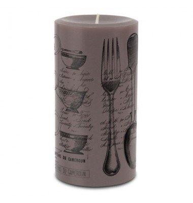 Vintage Peony Pure Pillar Candle, Skeem