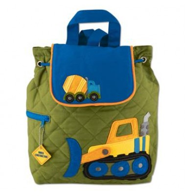 Stephen Joseph Quilted Backpack Construction
