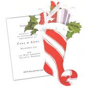 Christmas Invitations, Christmas Stocking, Stevie Streck