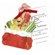 Christmas Invitations, Bag of Toys, Stevie Streck