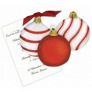 Christmas Invitations, Ornaments, Stevie Streck