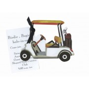 Golf Invitations, Golf Cart, Stevier Streck